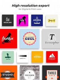 logo maker on the app