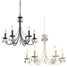 candles shabby chic candle chandelier candlestick non electric chandeliers ele