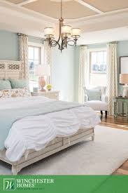 Double-hung windows welcome natural light in to illuminate the beautiful  hardwood floors and mint  Mint Green BedroomsLight ...