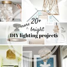 fantastic round up of 20 popular diy lamp diy light and diy lampshade
