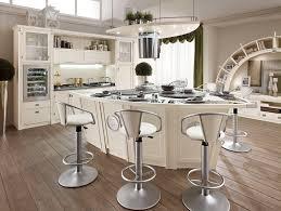 White French Country Kitchen Wonderful White French Country Kitchens With White Veneer Kitchen