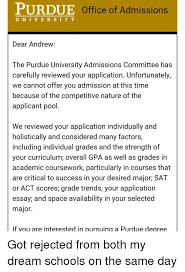 purdue office of admissions u n i v e r s i t y dear andrew the  memes act scores and 🤖 purdue office of admissions u n i v e r s i t y dear andrew