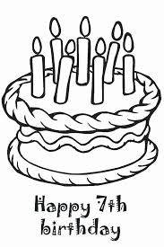 Happy birthday black and white cute. Happy Birthday Coloring Page Best Of Happy Birthday Coloring Pages To Color In On Happy Birthday Coloring Pages Birthday Coloring Pages Birthday Gifts For Boys