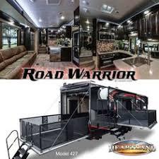 heartland rvs road warrior 427 luxury toyhauler s heartlandrvs
