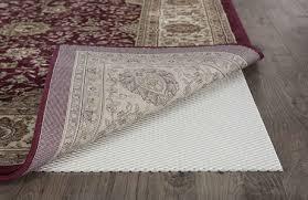 tayse rugs ultra grip cream 5 x 8 rectangular rug pad taugp12095x8