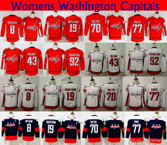 Ladies 2018 Stadium Series Washington Capitals 77 Tj Oshie 8 Alex Ovechkin 70 Holtby 92 Kuznetsov 19 Backstrom 43 Tom Wilson Hockey Jerseys