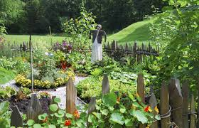 colonial kitchen garden design