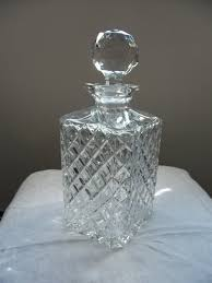 cut glass whisky decanter miscellaneous antiques