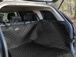high quality car rear back seat cover pet dog protector boot mat liner black