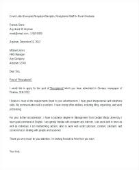 What Is A Good Cover Letter For A Job Application Cover Letter For