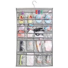 hanging pocket baby closet organizer