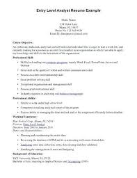 Objective Examples For Resumes Retail Resume Objective Examples Resume Objective Examples Entry 88