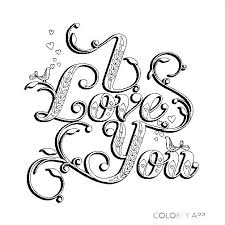 Love Coloring Pages For Adults 20 Free Printable Valentines Adult
