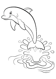 Printable Cute Dolphin Coloring Pages Dolphin Coloring Pages Related