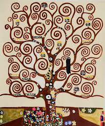 tree of life gustav klimt painting