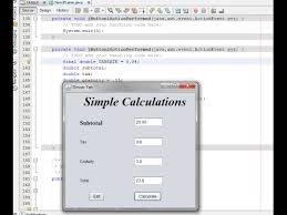 Vending Machine Java Gui Stunning Easy Java GUI Easy Java Calculations YouTube