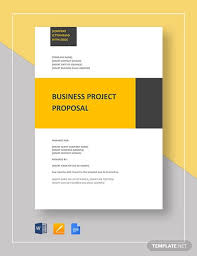 Business Proposals Templates 17 Sample Business Proposal Templates In Word Free Premium