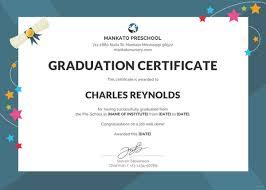 18 Graduation Certificate Templates Word Pdf Documents Download