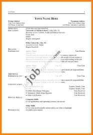 Resume Past Tense 100 job specific resume writing a memo 60