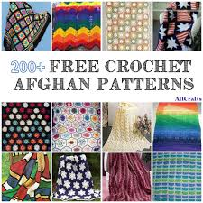 Free Crochet Afghan Patterns Delectable 48 Free Crochet Afghan Patterns AllCrafts Free Crafts Update