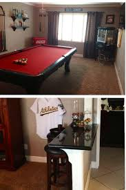 Living Room With A Bar Turn That Unused Formal Living Room Into A Game Room Also Use