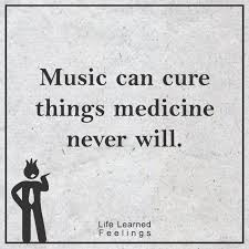 Quotes About Music Simple Optimistic Quotes Music Can Cure Things Medicine Never Will