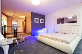 modern purple bedroom design for s