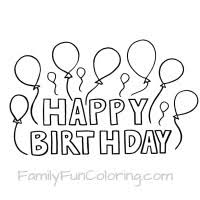 Small Picture Happy Birthday Coloring Pages FamilyFunColoring