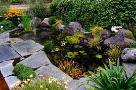 Lawn & Garden:Beautiful Japanese Garden Rock Feature And Koi Pond Design  Ideas Ravishing Small