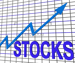Chart Showing Increase Image Of Stocks Chart Graph Shows Increase Investment Earnings
