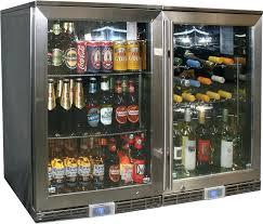 small beer refrigerator glass door wine cooler fridges dual climate available beverage refrigerator glass door small