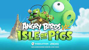 Angry Birds VR: Isle of Pigs (PC, PS4) Test, Review, Arcade, Puzzle, VR ·  Controller Warriors