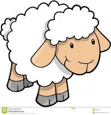 Cute Sheep Lamb Vector Ingles Pinterest Enfants