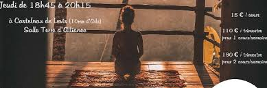 Cours Hebdomadaire De Natha Yoga Mercredi à Castelnau De Lévis