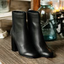 ramona leather boot by dolce vita black at shoetini