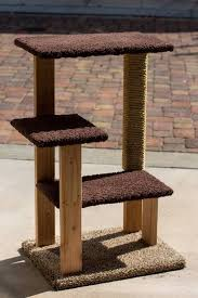 decided to try my hand at building my own cat tree