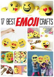 Diy Emoji Crafts For Kids Red Ted Art