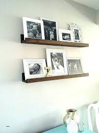 clear glass picture frames wall shelves unique for full shelf furniture floating acrylic pict