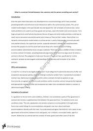 contract law essay contracts thinkswap contract law essay