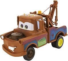 Amazon.com: Disney Pixar Cars Tow Truckin' Mater Vehicle: Toys & Games