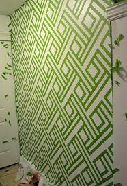 wall paint design ideas with tape inspirational diy modern wall design with painters tape