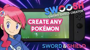 SWOOSH Creator App for Pokémon Sword & Shield! Create Pokemon! No Hacking,  PKHex, CFW or Discord Bot - YouTube