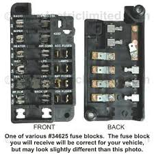 1982 camaro fuse box car wiring diagram download moodswings co Fuse Box Terminal Repair Kit camaro fuse block repair kit, 1967 1982 camaro fuse box 1982 camaro fuse box 88 delphi mini fuse box terminal repair kit