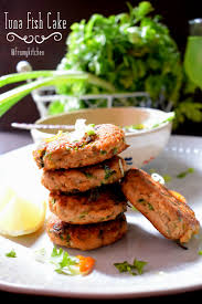 Well, the idea of using tuna for making fish cakes tickled m. Tuna Fish Cake From My Kitchen
