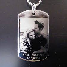 dog tag engrave photo engraved dogtag pendant necklace spectracolor simi valley ca