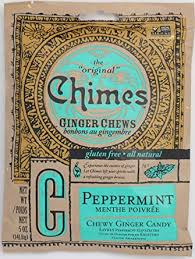Chimes Peppermint Ginger Chews, 5-Ounce Bags ... - Amazon.com