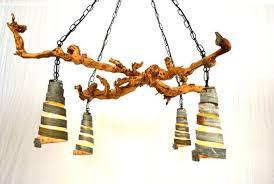 custom made old vine o gvine chandelier