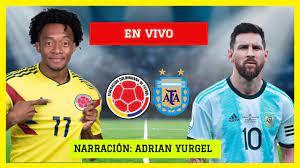 COLOMBIA VS ARGENTINA EN VIVO