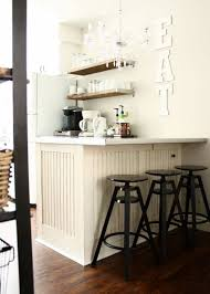 Breakfast Bar For Kitchen Kitchen Stools At Breakfast Bar Open Shelving Pantry