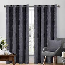 dark grey bedding set and matching